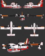 P3D/FSX Viking CL-415 Aero-Flite Repaint Pack