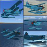 FS2004/FSX Antonov AN-2V URSS Navy Textures