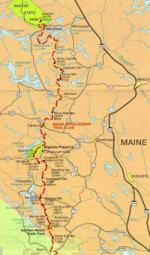 Appalachian Trail Adventure Maine