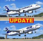 Airbus A320 Air Corsica Package