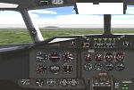 FS98                     panel for the Airspeed Ambassador.