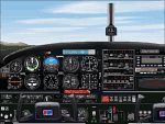 FS2000                   Piper PA28 Arrow panel