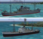 FS2004 Double Pack Features For Pilotable Armed Merchand Cruisers