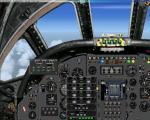 Avro Vulcan 2D panel