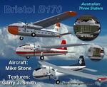 FS2004                   Bristol B170 3 Texture Set