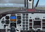 FS2004                   King Air 2D panel