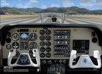 FSX                   2D B-58 Beechcraft Baron Upgraded.