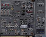 FSX Boeing 727-200 2D and VC Panel
