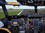 FS2000                   rework of the FS98 727 pane