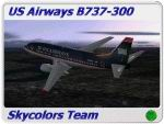 FS2004/FS2002                   US Airways Boeing 737-300