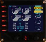 B737-800 EICAS FSX model for Saitek Pro Flight Instrument Panel