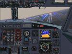 Co-pilot                   B737- 200/300 analog panel