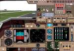 B747-400                   RealCRT Deluxe Panel for FS2000 ver 1b series 2
