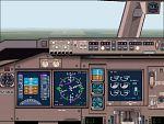 FS2000                   Boeing 767-400ER pane