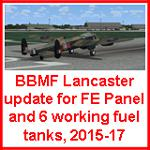 FSX BBMF Lancasters 6 with Fuel Tank Update