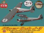 Piper J3-BFU-Grey-Texture Set