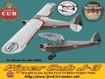 Piper J3-BFU-White-Texture Set