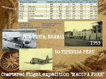 Six 1950s Cargo/Passenger Flights in S.A.
