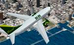 "FS2000                   Boeing 737-699 ""BR Brasilian virtual airline"""