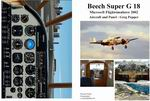 Manual/Checklist -- Beech Super G18