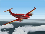 FS2000                   Beech King Air repainted textures