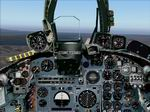 FS2004                   Photorealistic Buccaneer Panel.