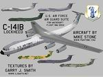 FS2004                   Lockheed C141B - Aircraft and Liveries ANG Suite Aircraft