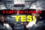 FSadventureSky Airways...Three Flights for Captains only.