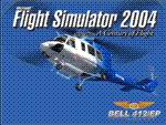 FS2004                     Bell 412/EP Splash Screen.
