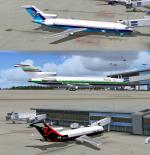 FSX Boeing 727 Miami and NBA