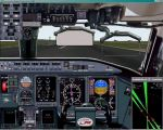 FS2000                   CRJ panel, First Officer perspective