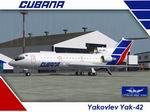 FS2004                   Lviv Yak42 Group & Samdim Design YAK-42D Cubana Airlines                   Textures only