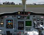 FS2004                   Cessna Citation Panel.