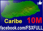 10M Terrain Mesh for the Caribbean  Islands