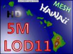 5M HD Mesh for the Island of Hawaii