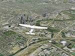 FS2004                     Columbus Ohio (OH) photorealistic VFR scenery Part 1
