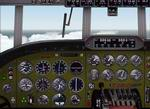 FS2000                   Realistic panel for Lockheed Constellation and Super Constellation