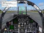 FS2004                   Two modified cockpits for the Coral F-15v2
