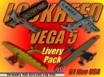 Lockheed Vega 5 Texture Pack
