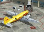 FSX/FS2004 DHL Curtiss C-46 Commando C-BPDH Textures