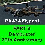 FSX Dambuster 70th Anniversary PA474 Flypast