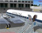 FS2004/FSX  DC-7C SPANTAX Textures