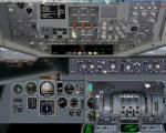 Mc Donnell Douglas DC 10 2D panel