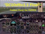 McDonnel-Douglas DC-10 (KC-10) Custom Panel Final