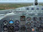 FS2004                   DC3 Photo-real Modern, Re-built Panel Shareware