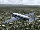 "FS2004                   default DC-3 in ""VASP"" colors, Textures only."
