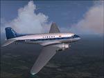FS2004                   Default Douglas DC-3 SABENA Textures only