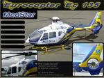 """FS2004                   Eurocopter Ec135 Package P1 Norhtwest MedStar """"N312MS"""""""