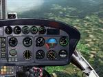 FS2002                   Eurocopter/Aerospatiale AS350 Ecureuil/Squirrel Panel Light                   version.