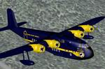FS2004                   Short Empire Alaska Coastal Airways Blue Textures only